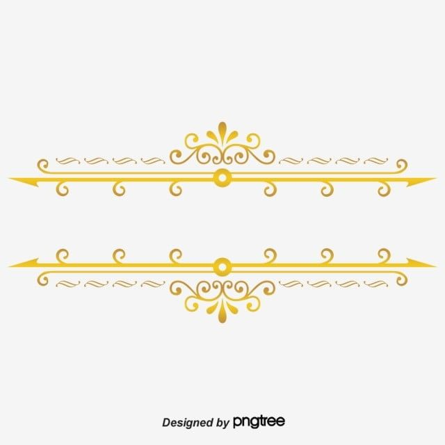 Continental Gold Line Border Vector Gold Clipart Golden Lines Border Gold Png Transparent Clipart Image And Psd File For Free Download Gold Line Line Border Gold Clipart