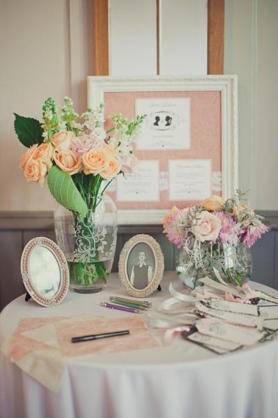 Shabby Chic Wedding Table Ideas : Shabby chic wedding on receptions and