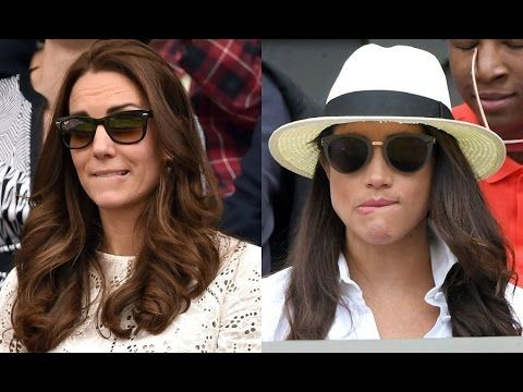 Kate and Meghan Markle's striking similarities - YouTube