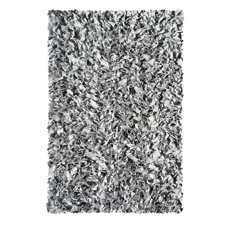Shaggy Raggy Silver 1 Ft. 10 In. X 2 Ft. 10 In.