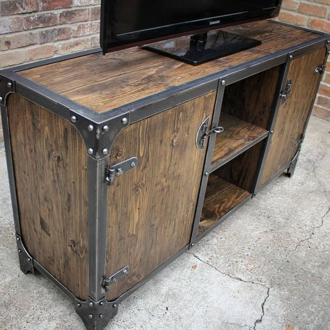 Modern Industrial Furniture #vintagerusticfurniture #vintageindustrialfurniture #rusticfurniturewestern