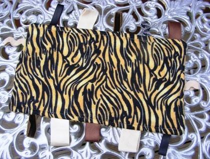 Baby & Toddler Tactile Tiger Print Comfort Bankets