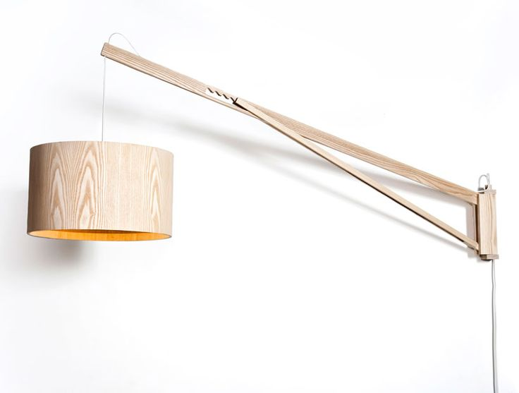 //: Wooden Lamps, Wall Lamps, Furniture Industrial, Furniture Photography, Creative Design, Asaf Weinbroom, Gardom Lights, White Wall, Design Furniture