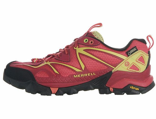 Merrell Womens Capra Sports Gore-Tex Outdoors Hiking Trail Shoes USSize:6~9 #Merrell #WalkingHikingTrail