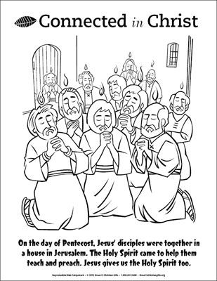 free coloring pages about pentecost - photo#29