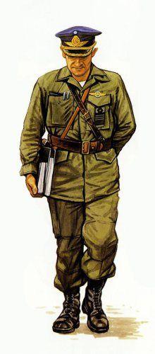 General de Brigada Luis Castellano Comandante de la IX Brigada Aerea Malvinas 1982.