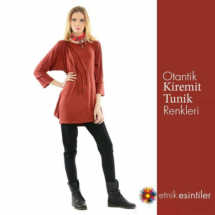 Otantik Kiremit Tunik #otantik #etnik #Tunik #bayan #giyim Ürünümüze aşağıdaki linkten ulaşabilirsiniz. >http://goo.gl/ZSdteK