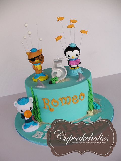 9 Best Octonautus Party Images On Pinterest Birthdays