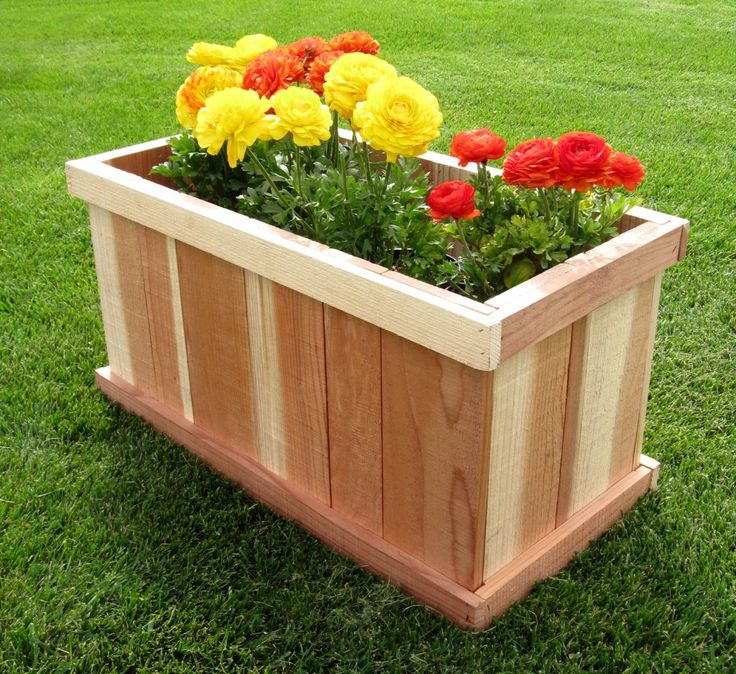 Diy Square Planter Box: 17 Best Images About Planter Boxes On Pinterest