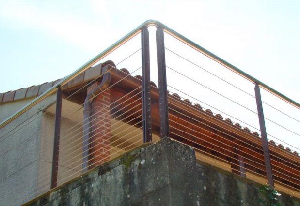 Garde corps loft à câbles inox   Autrement Métal