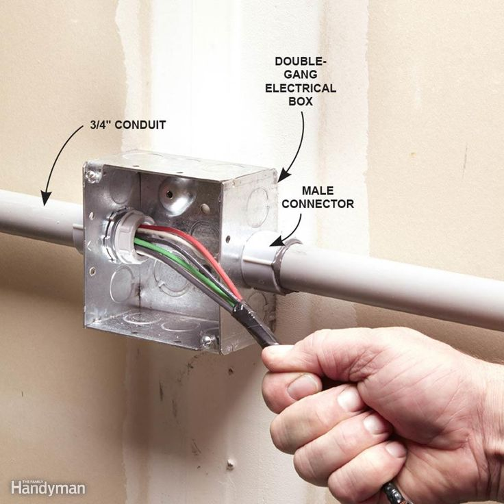 Installing PVC Conduit | Wiring | Pvc conduit, Home