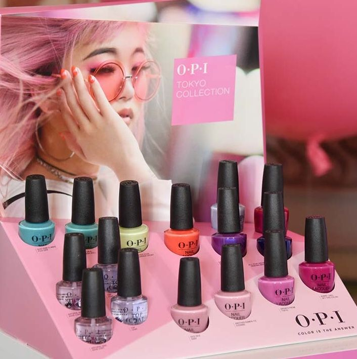 Nail Polish Colors Spring 2018 Opi: Opi Spring 2019 Tokyo Collection
