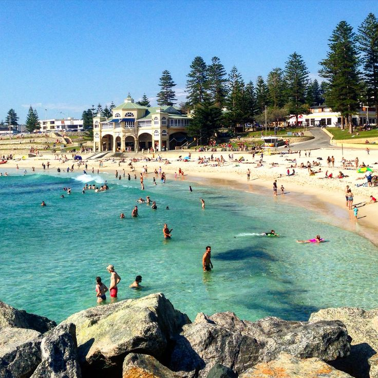 Westerne Australia, Cottesloe beach.