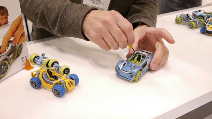 Cool New Toys : Demo of how to build a modarri toy car toyfairny read
