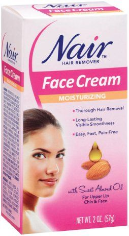 Nair Hair Removal Cream for Face with Special Moisturizers,