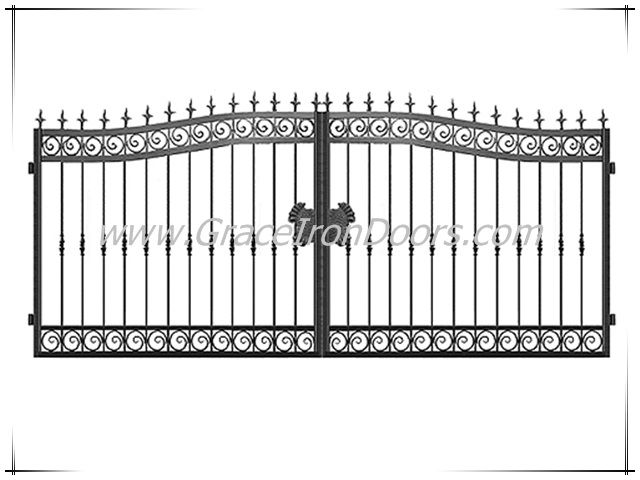 25+ Best Ideas About Wrought Iron Gate Designs On