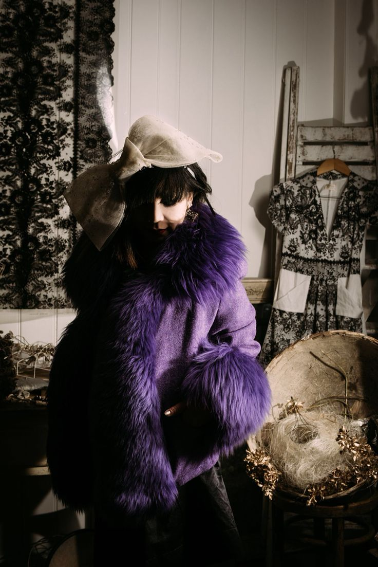 Vintage purple Vivienne Westwood