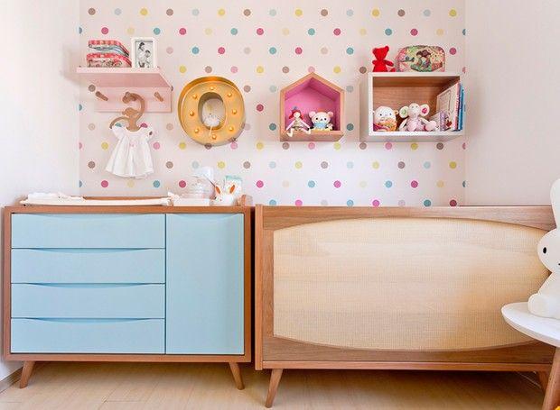 Decoração de quarto infantil fora dos padrões