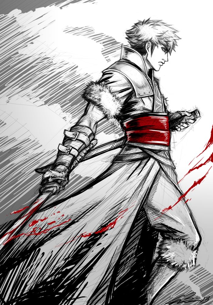 Lon'Qu (by runaire) - gift to the Shepherds from the Feroxi West Khan.
