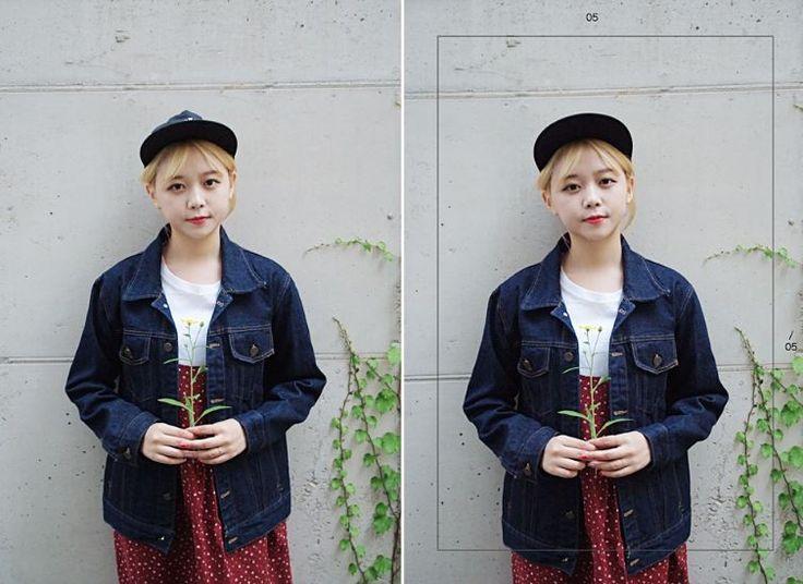 [키키코데님자켓] #키키코 #KIKIKO #자체제작 #MADE #키작녀 #쇼핑몰 #10대 #여성 #데님 #자켓 #Denim #Jacket #Dailylook #Fashion #Model #데일리룩 #모델 #추천