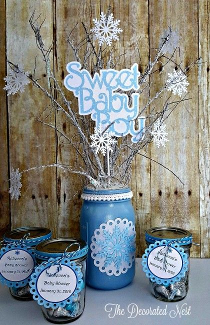 Make Decorations For A Quot Baby It S Cold Outside Quot Themed