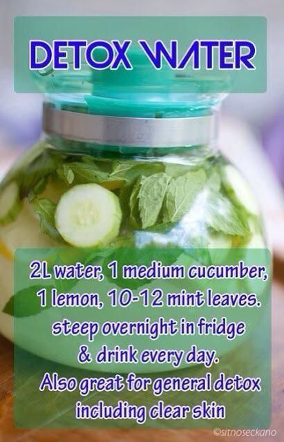 """Diy cleanse, diy detox Ok I have done this for two days, YES it works:) i have gone to """"the bathroom"""" many times:) my face feels really good, AND it helps me to drink more water during the day AND I really really don't crave soda(SCORE) I also am drinking one made with mint leaves, green tea and lemon which tastes better:) I make both at night and drink them both during the day:)"""