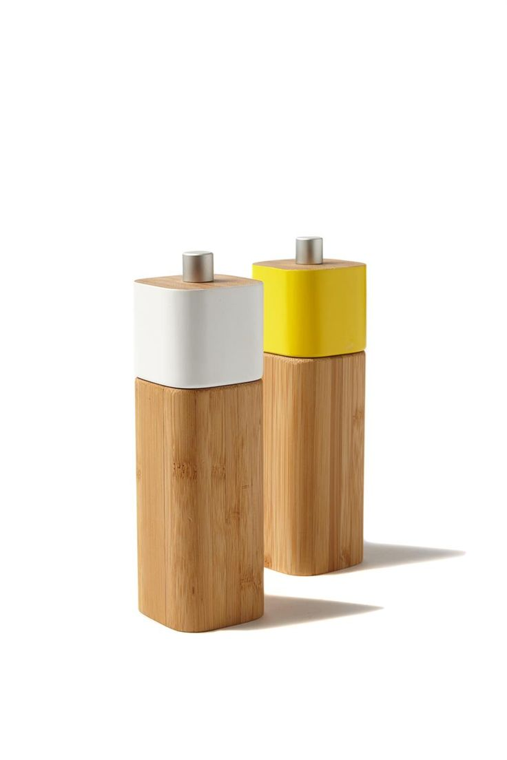 Details: 2 Pce Salt And Pepper Mills With Colourful Top <br> Dimensions: