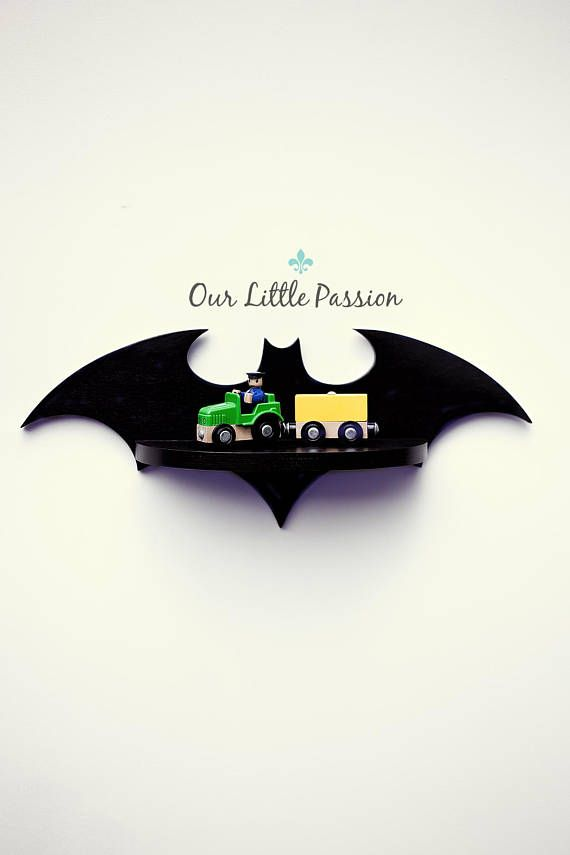 Hey, I found this really awesome Etsy listing at https://www.etsy.com/listing/543648161/batman-iv-shelf-shelf-for-baby-nursery