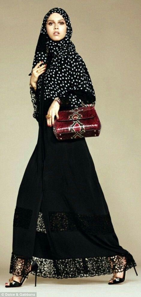 Dolce e Gabbana moda islâmica