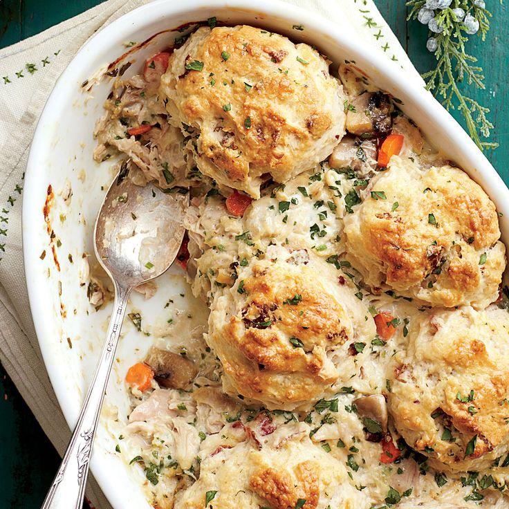 Chicken-and-Biscuit Cobbler | MyRecipes