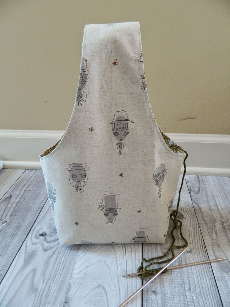 Free Knitting Bag Patterns To Sew : 25+ best ideas about Knitting Bags on Pinterest Handmade ...