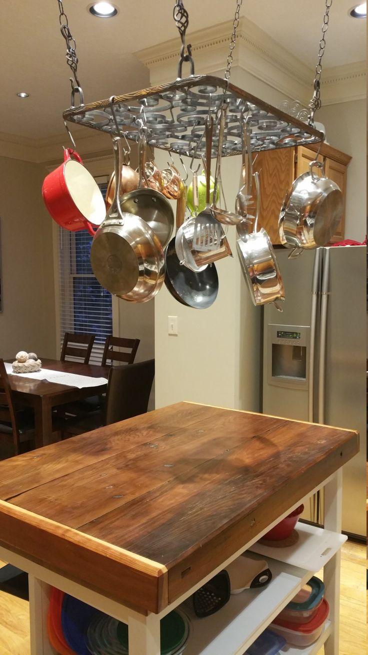 Best 25+ Pan rack ideas on Pinterest | Pot rack, Pot rack ...