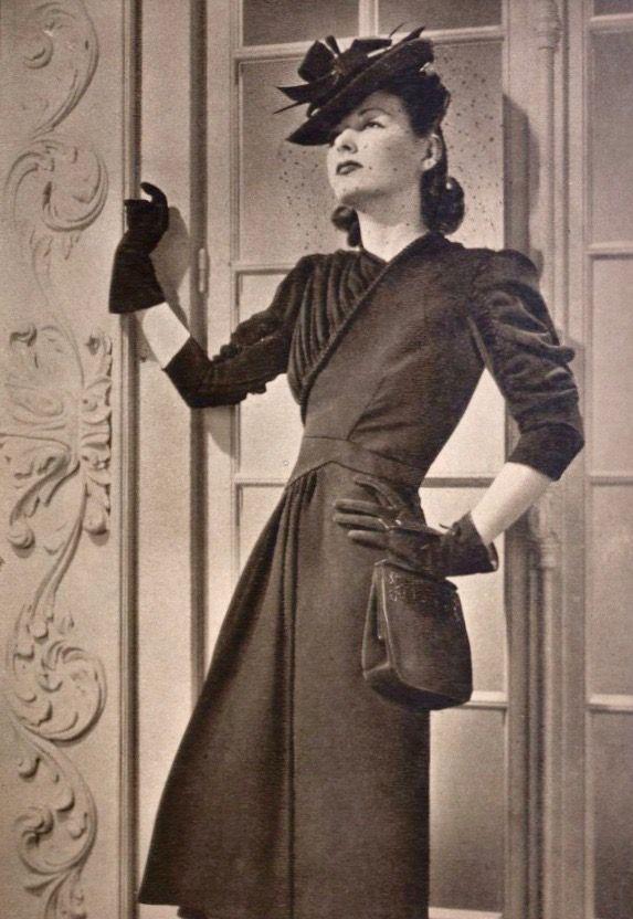Elegante Mujer Vintage Retro Clothing Vintage Inspired Fashion Vintage Fashion