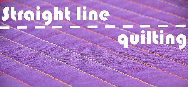 Best 25 Straight Line Quilting Ideas On Pinterest