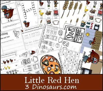 Free Printables: Little Red Hen Printable Set
