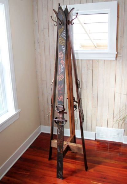 13 Cool DIYs Using Old Winter Sports Equipment - Look Local Magazine Oakville & Burlington