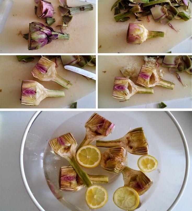 Idée de recette pour les fêtes:  raviolis sans oeuf, une farce aux artichauts crémeuse à souhait, tout végétal. C'est du travail, mais c'est tellement bon!