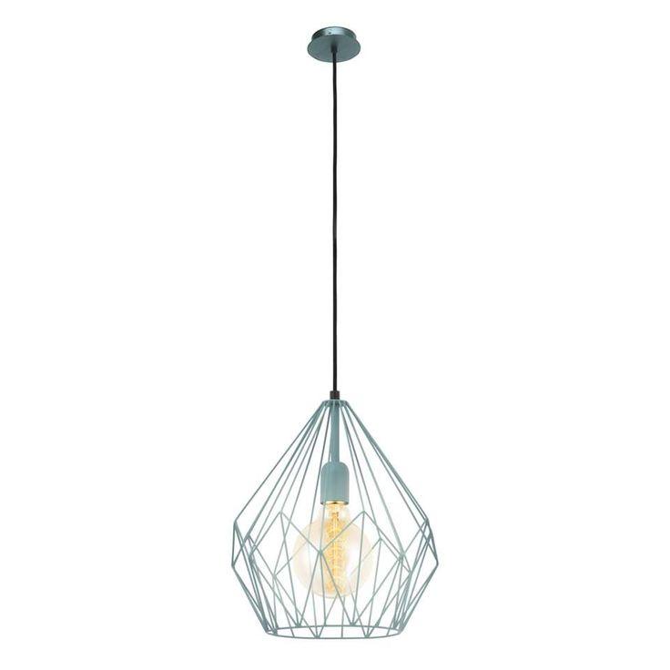EGLO hanglamp Carlton - mintgroen | Leen Bakker