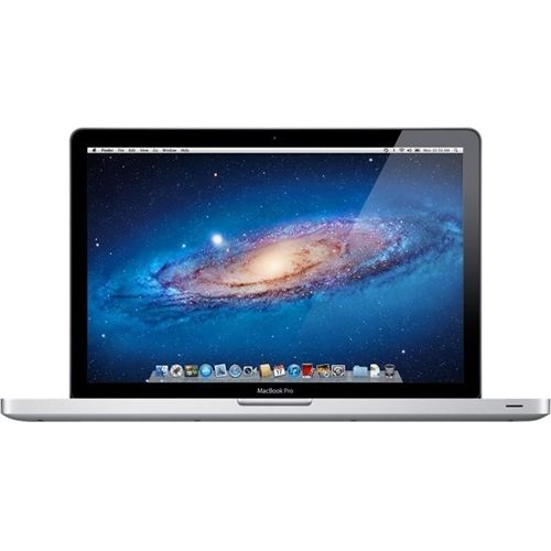 "Apple - MacBook Pro 15"" Pre-owned Laptop - Intel Core i7 - 4GB Memory - 500GB Hard Drive - Silver"