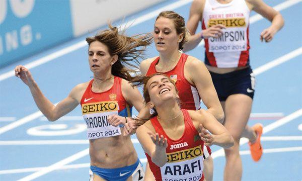 Mondiaux d'athlétisme 2014 en salle. Iguider et Arafi en bronze