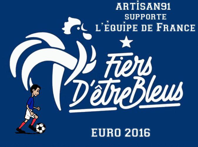 artisan91.fr supporte la France à l'euro 2016