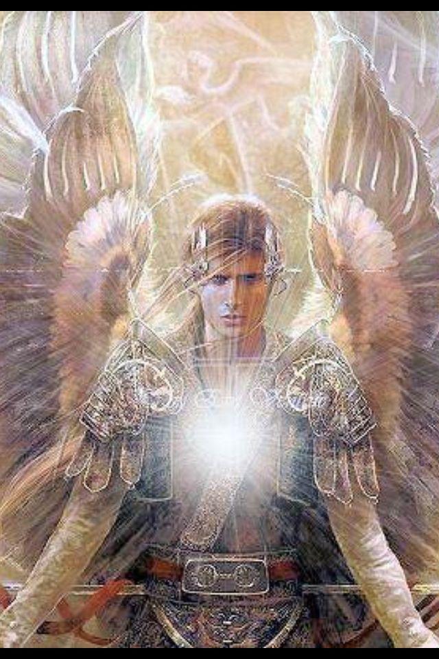 Pin By Dulce Cristina Reyes Colon On ángel Archangel Michael Saint Statues Archangels