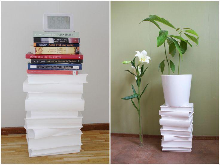 Nattygsbord av målade böcker | Reaktionista