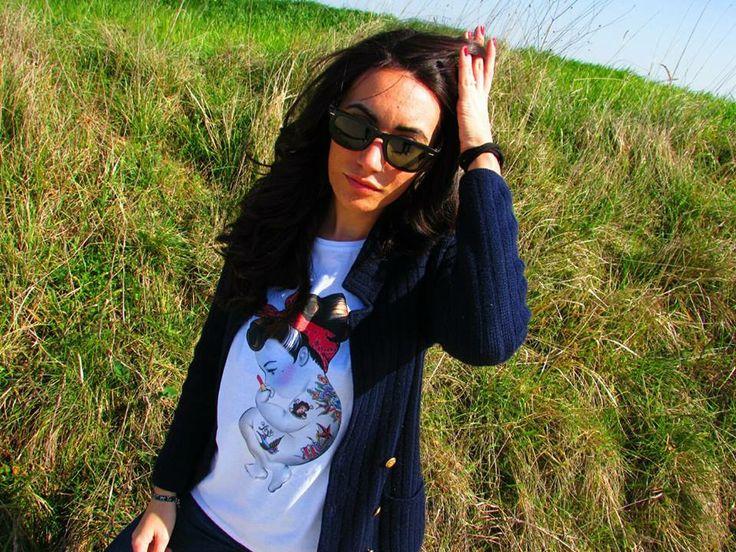 Grazie ai nostri #blogger di Blackknoir per l'articolo sulle nostre #tshirt #siamoises! Samantha pic. http://bit.ly/1i8a6pR  Stay tuned! ;)