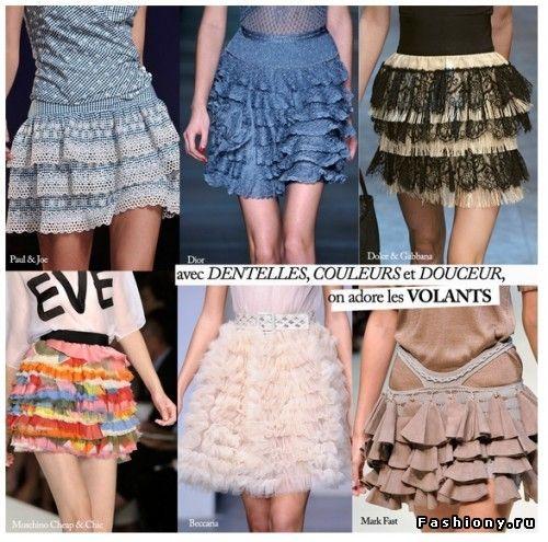 Черные юбки от украинских дизайнеров