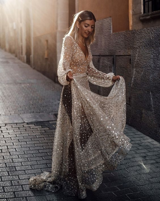 63 Bohemian Wedding Dresses That Will Take Your Breath Away 15