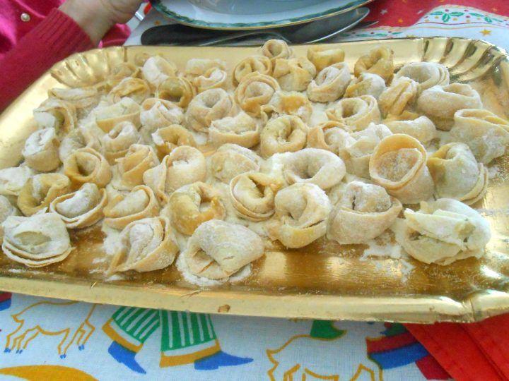 Tortellini in brodo, senza sale, tortellini fatti in casa, giovanna in cucina