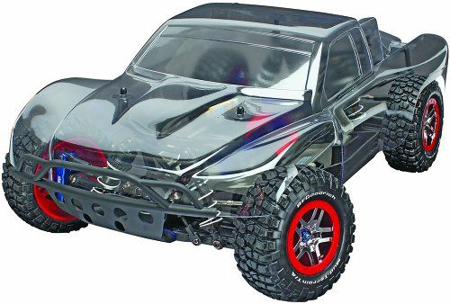Best Helicopters Traxxas Slash 4 x 4 Brushless Pro 4WD Short Course Truck (Platinum Edition), 1:10 Scale