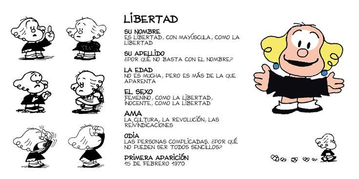 Quino. Mafalda. Libertad