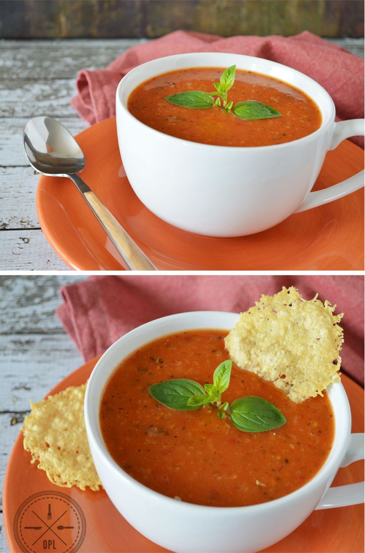 Tomato Soup & Matzah for Passover + Feast of Unleavened Bread